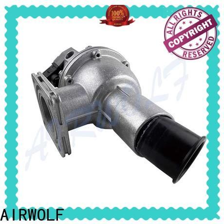 AIRWOLF yellow diaphragm valve repair rubber treatment