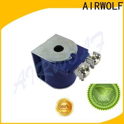 purple solenoid valve coil custom armature for enclosures