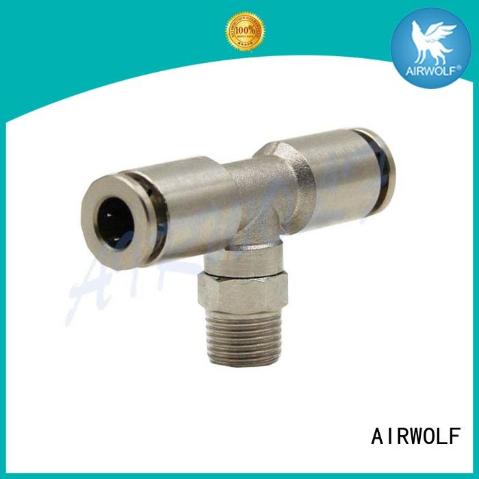 AIRWOLF cheap pneumatic fittings middle fluids industries