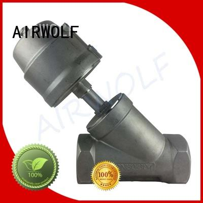 single pneumatic angle seat valve OEM angle