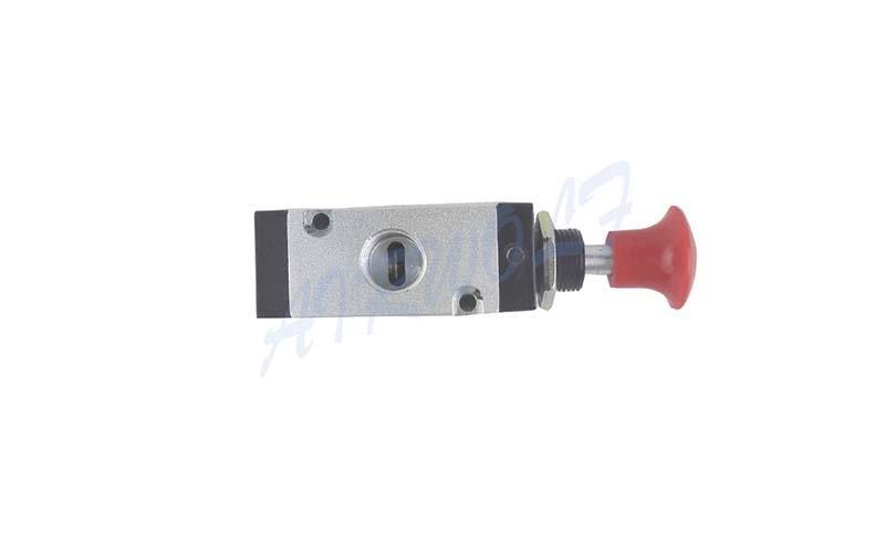 AIRWOLF convenient pneumatic push button valve red wholesale-3