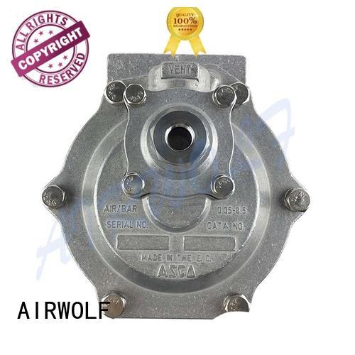 AIRWOLF dedusting pulse flow valve control tube