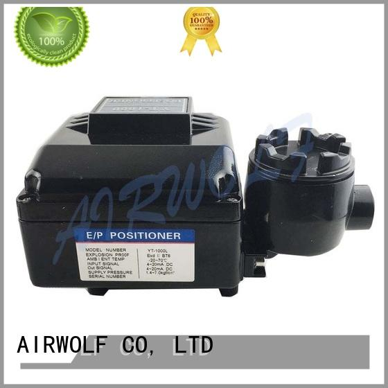 AIRWOLF explosion-proof double acting pneumatic valve actuator accurate positioning
