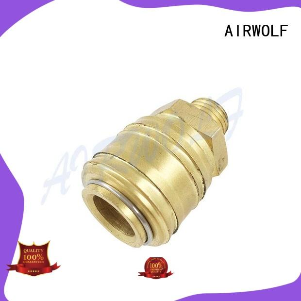 AIRWOLF stainless pneumatic tube fittings durable