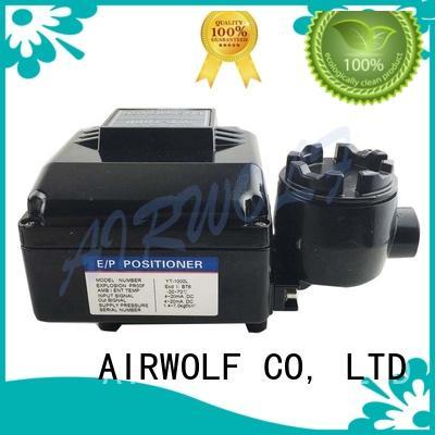AIRWOLF pneumatic control valve actuator custom accurate positioning