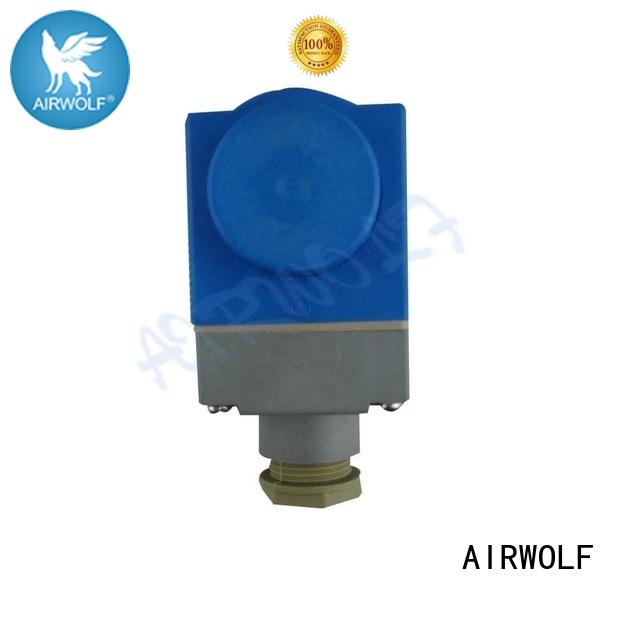 AIRWOLF blue solenoid coils pilots and