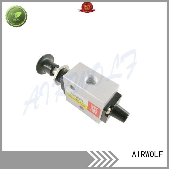 pneumatic manual valves air production AIRWOLF