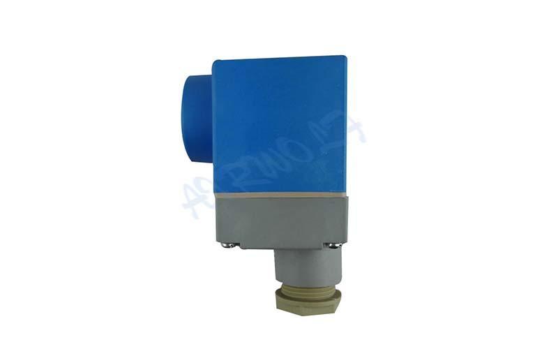 AIRWOLF custom solenoid valve coil spade for enclosures-2