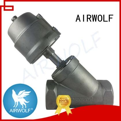 angle seat valves acting gases AIRWOLF