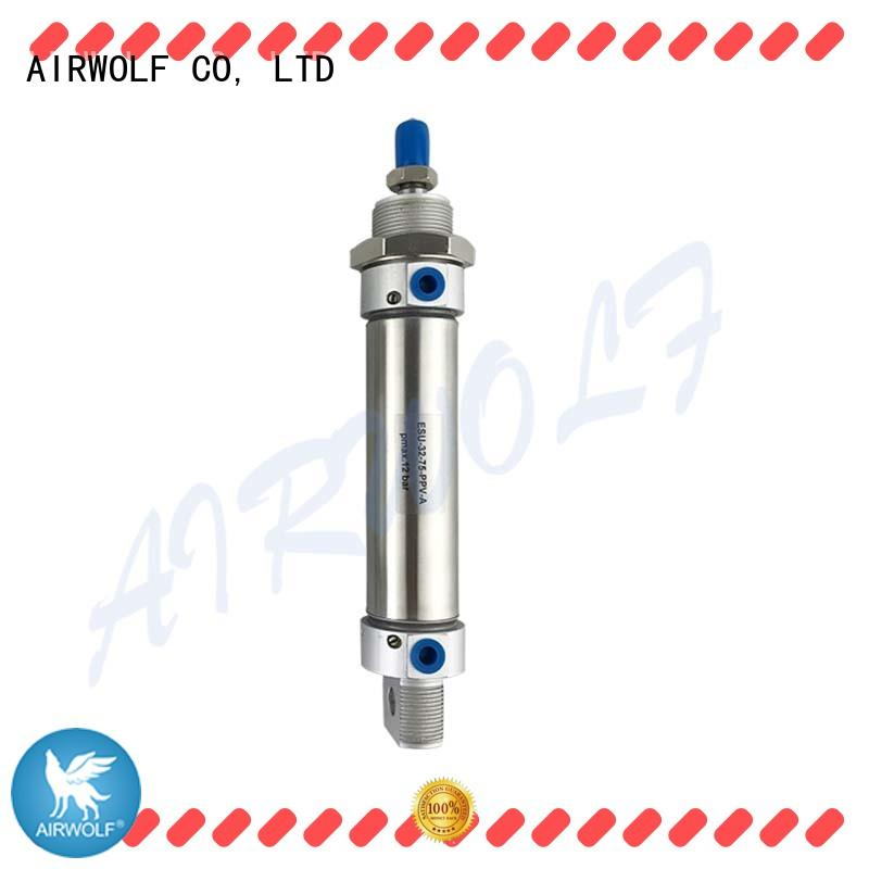double rodless pneumatic cylinder aluminium alloy energy compressed AIRWOLF