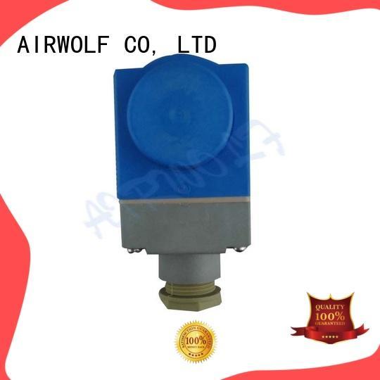 AIRWOLF custom solenoid valve coil spade for enclosures