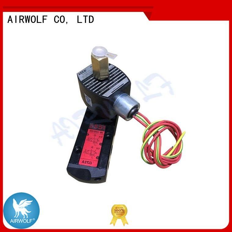 AIRWOLF alloy pilot operated solenoid valve pilot gas