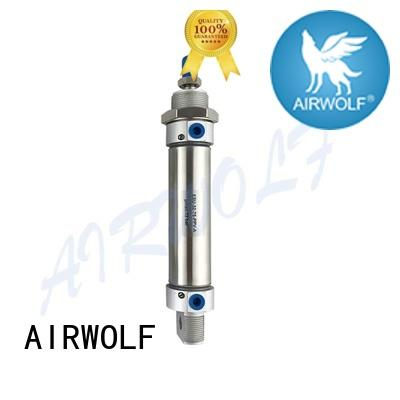 AIRWOLF buffer pneumatic air cylinders coupled energy compressed