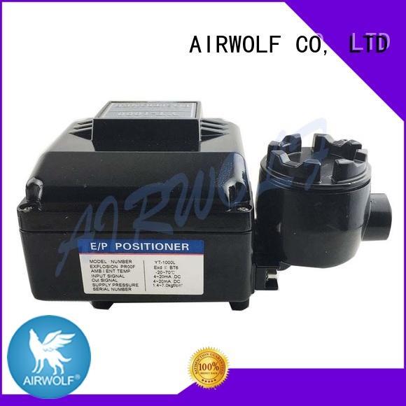 action explosion pneumatic valve actuator manufacturers actuator limit AIRWOLF company