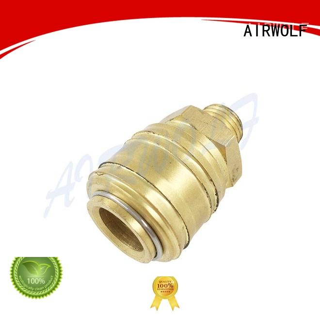 AIRWOLF thread pneumatic pipe fittings stainless steel chemical industries