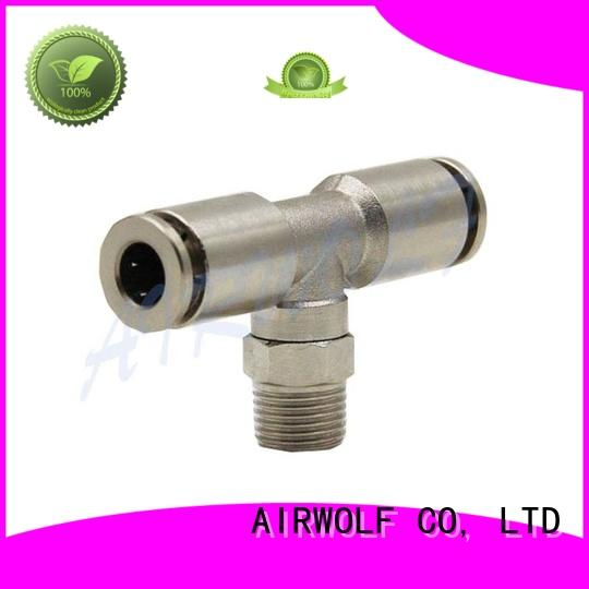 AIRWOLF steel pneumatic pipe fittings durable for piping system