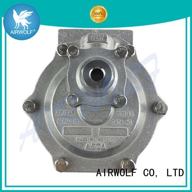 AIRWOLF fully dust collector pulse valve aluminum alloy dust blowout