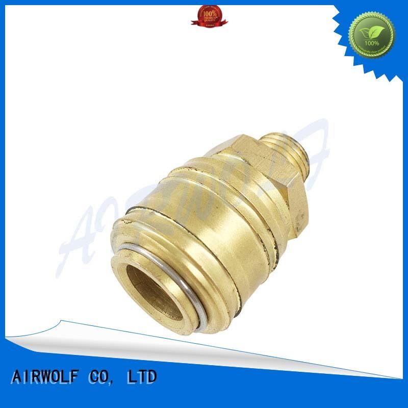 pneumatic push fittings tube pneumatics AIRWOLF