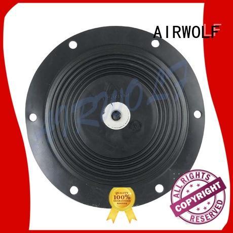 AIRWOLF Brand jet black diaphragm valve repair kit manufacture