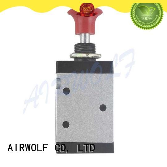 AIRWOLF convenient pneumatic push button valve red wholesale