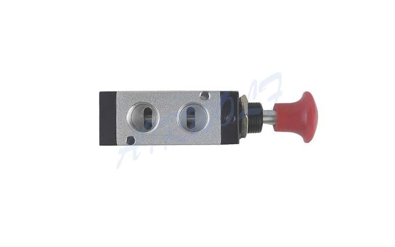 AIRWOLF convenient pneumatic push button valve red wholesale-2