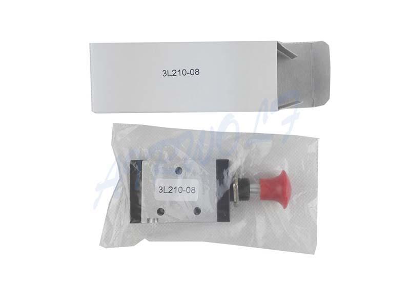 AIRWOLF convenient pneumatic push button valve red wholesale-1