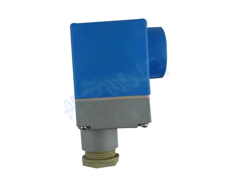 AIRWOLF custom solenoid valve coil spade for enclosures-1