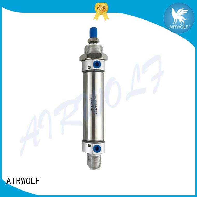 adjustable air cylinder anti-shock magnetically energy compressed