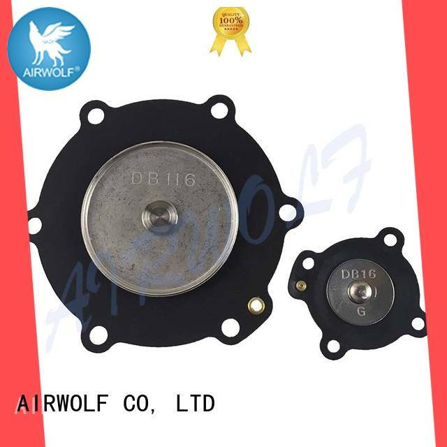 AIRWOLF yellow air valve repair kit assembly construction