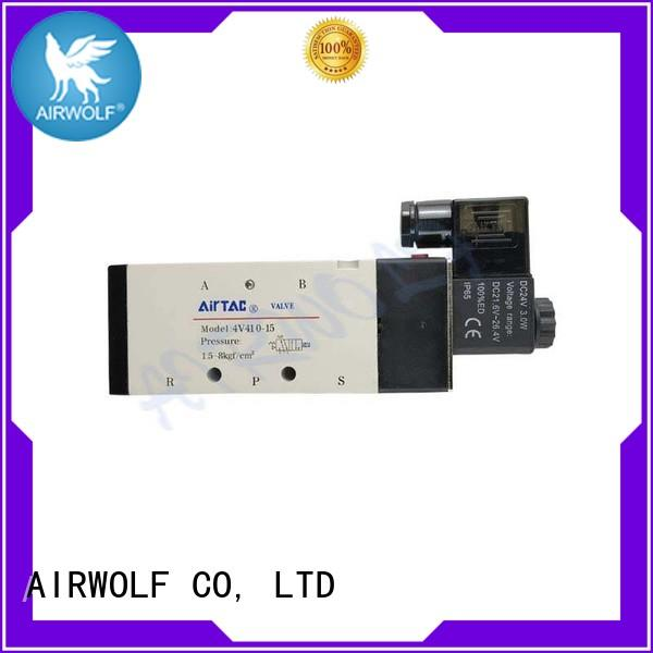AIRWOLF alloy magnetic solenoid valve now adjust