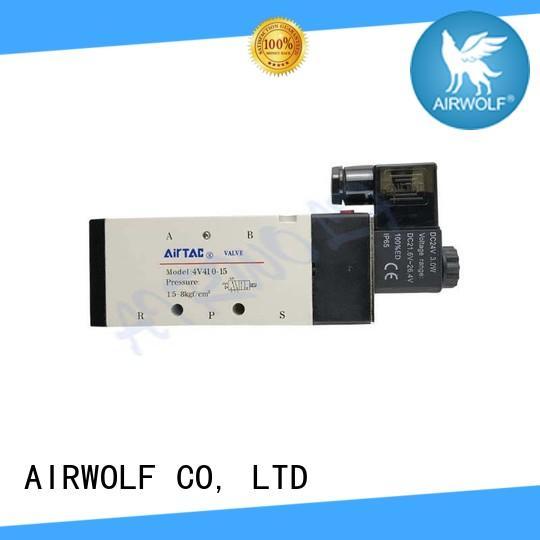 AIRWOLF ODM single solenoid valve spool adjustable system