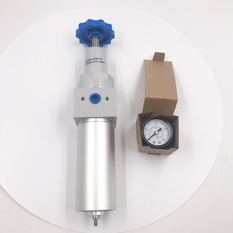 New Engineering Material QFRH-15  G1/2 High Pressure Filter Pressure Reducing Valve