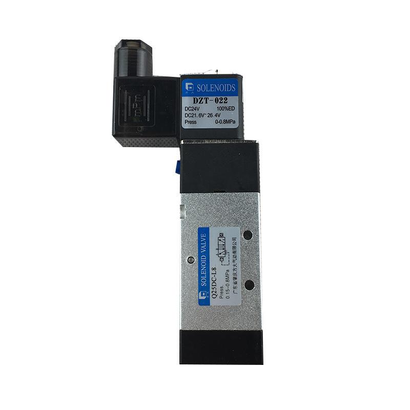 Q25DC-L8  /Q25DC-L10  heavy industry   Black industrial control system DC24V  Pneumatic solenoid valve
