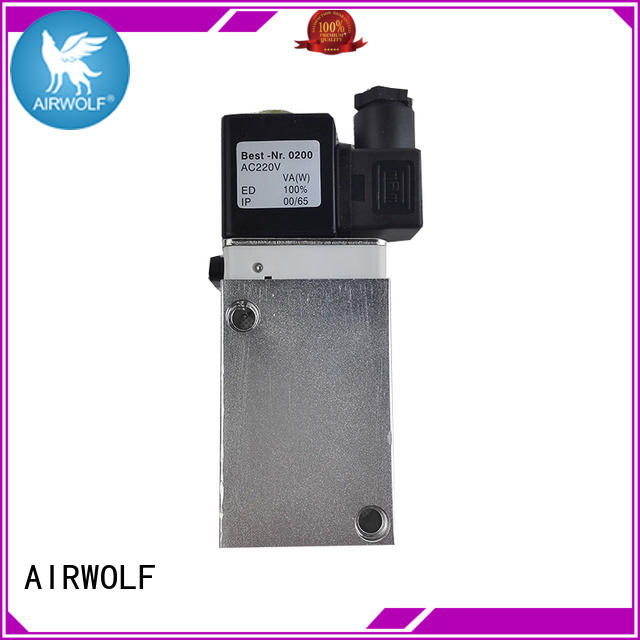 pneumatic solenoid valve high-quality for gas pipelines AIRWOLF