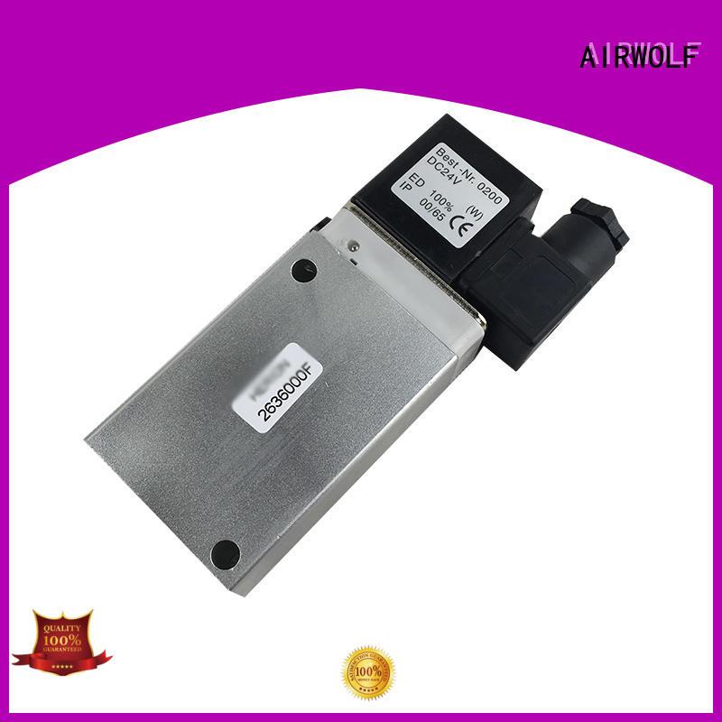 hot-sale single solenoid valve operated adjustable system AIRWOLF