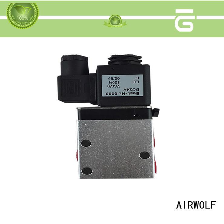 on-sale single solenoid valve adjustable system AIRWOLF