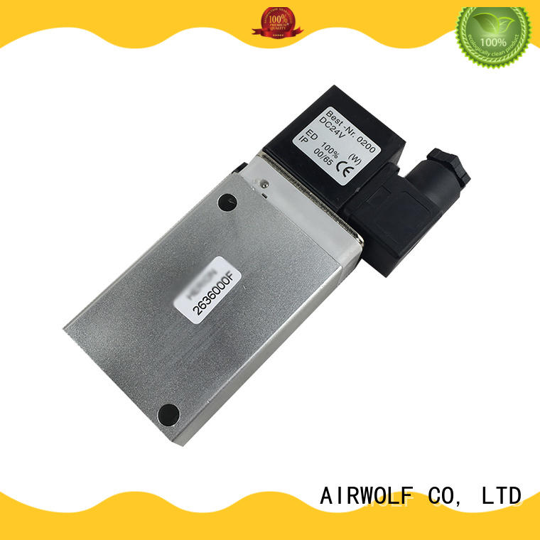 AIRWOLF pneumatic solenoid valve operated water pipe