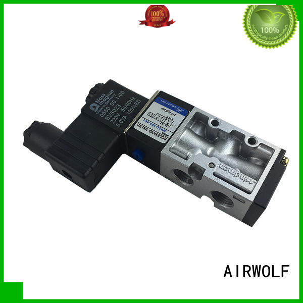 AIRWOLF customized pilot operated solenoid valve high-quality water pipe