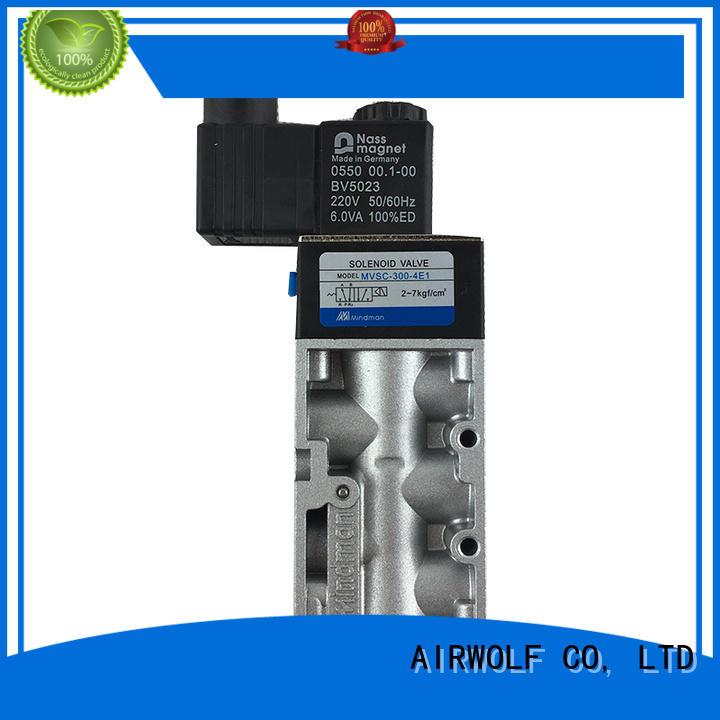 AIRWOLF single solenoid valve way water pipe