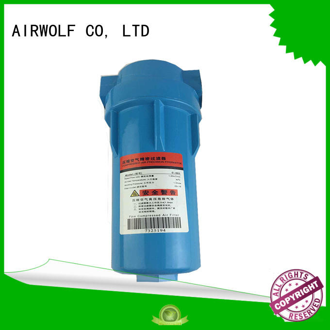 high-quality air compressor filter regulator AIRWOLF