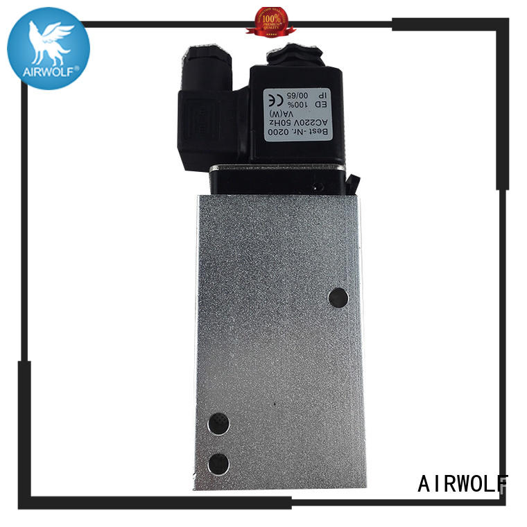 AIRWOLF OEM solenoid valves body for gas pipelines