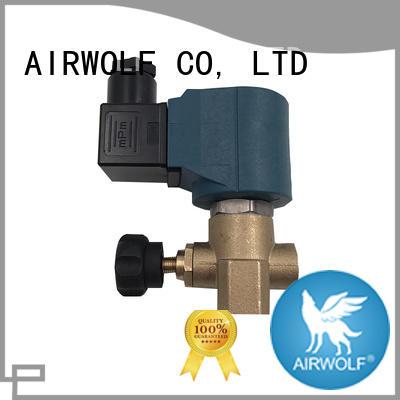 AIRWOLF single solenoid valve body water pipe