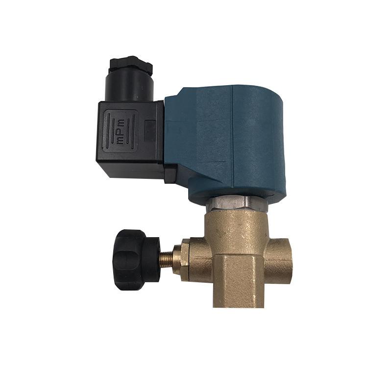 AIRWOLF single solenoid valve body water pipe-1