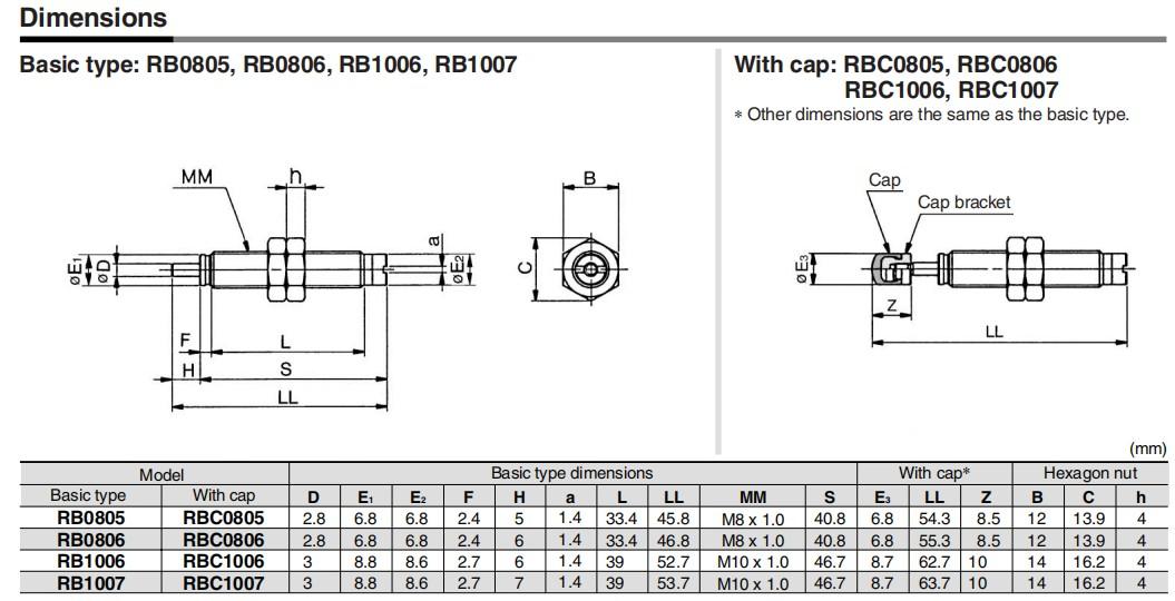 stroke series pneumatic air cylinders aluminium alloy pressure-6
