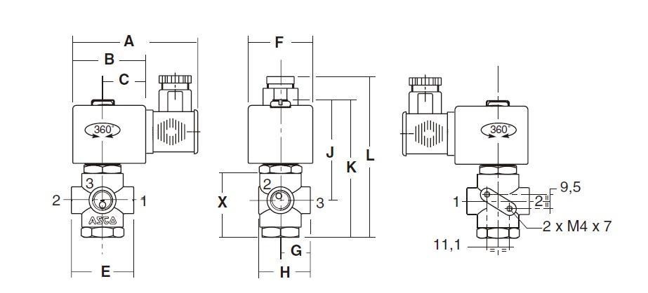 AIRWOLF on-sale pneumatic solenoid valve adjustable system-6