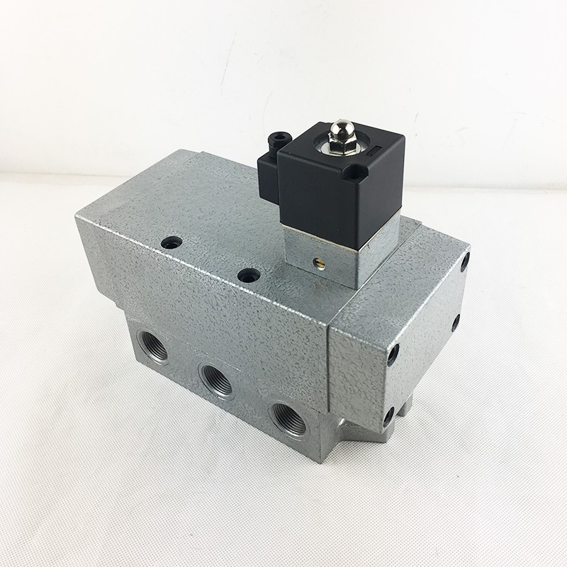 AIRWOLF solenoid valves single pilot for gas pipelines-2