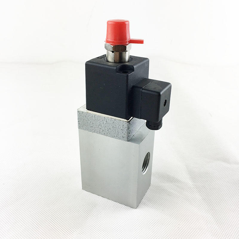 AIRWOLF aluminium alloy solenoid valves single pilot adjustable system-3