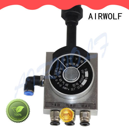 AIRWOLF proportional dump truck hydraulic valve for wholesale water meter