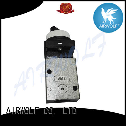 high quality push button pneumatic air valve drive bulk production AIRWOLF