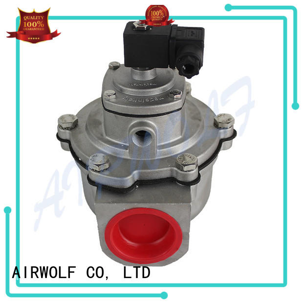 AIRWOLF controlled turbo pulse valves controlled dust